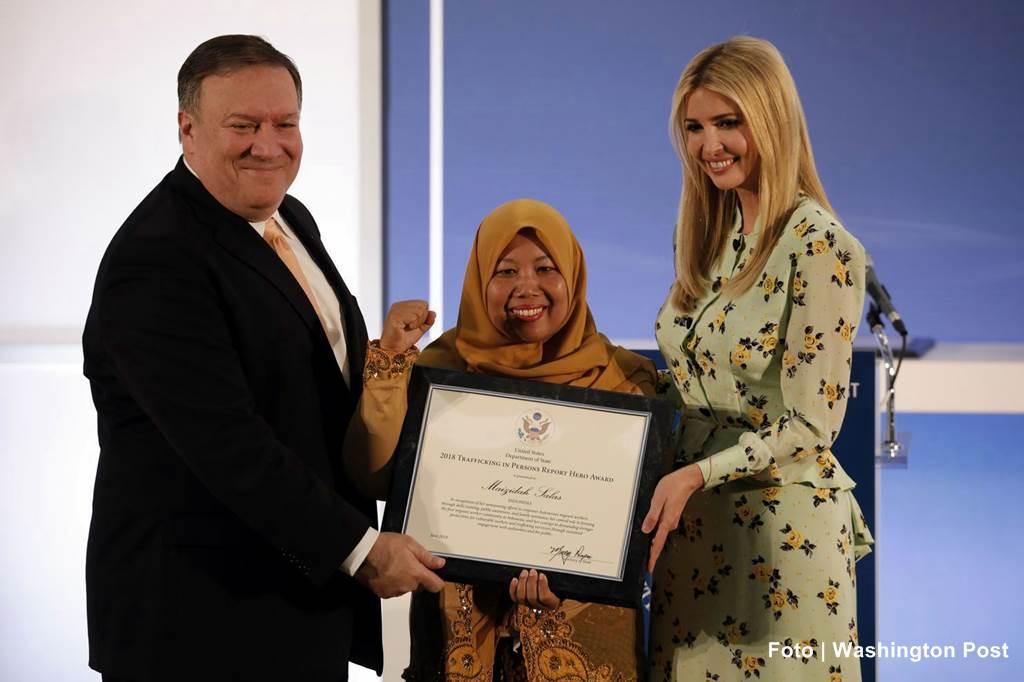 Mazidah-Salas-mantan-PMI-Hong-Kong-penerima-penghargaan-dari-Menlu-Amerika-Foto-Washington-Post