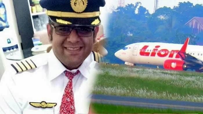 Bhavye Suneja pilot Lion Air Naas Hanya Digaji Rp 3,7 juta | Foto Istimewa
