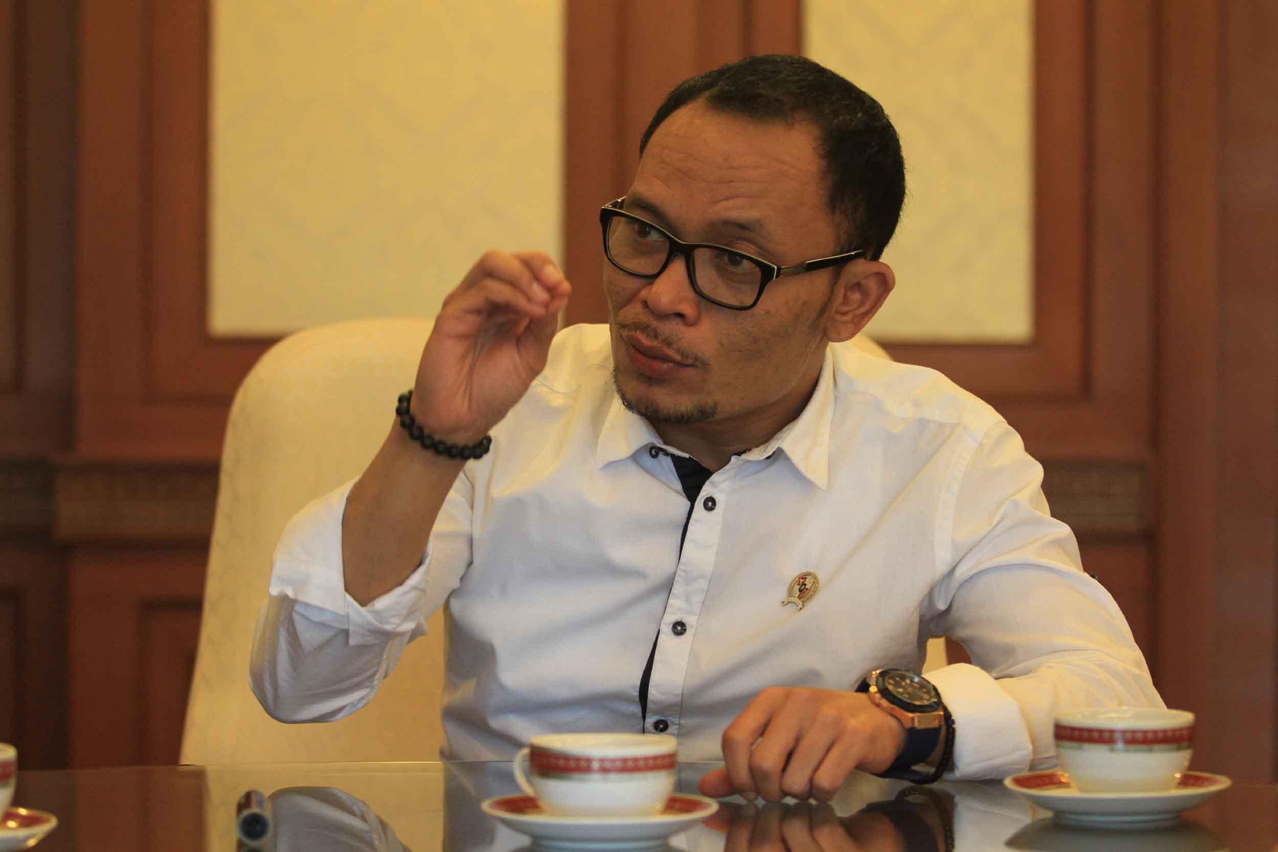 Menteri Tenaga Kerja Hanif Dhakiri. foto : UKON FURKON SUKANDA/INDOPOS