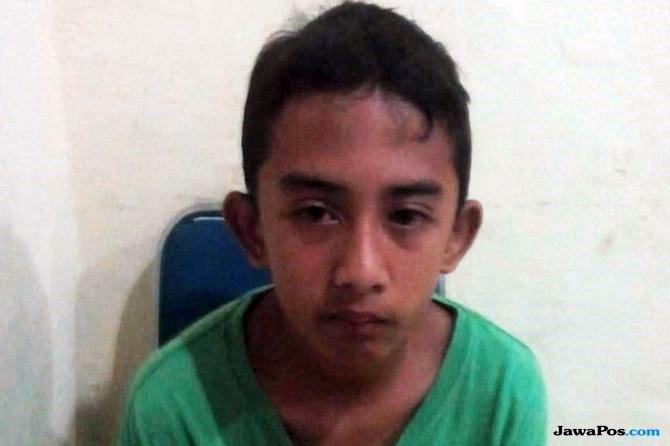 Muhammad Hanifiadi Setiawan, bocah asal Jatim yang nyasar hingga ke Deli Serdang. (Prayugo Utomo/ JawaPos.com)