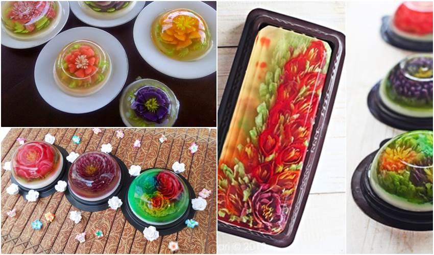 Kuliner Jelly, Modal 300 Ribu Untungnya Membuat Tersipu