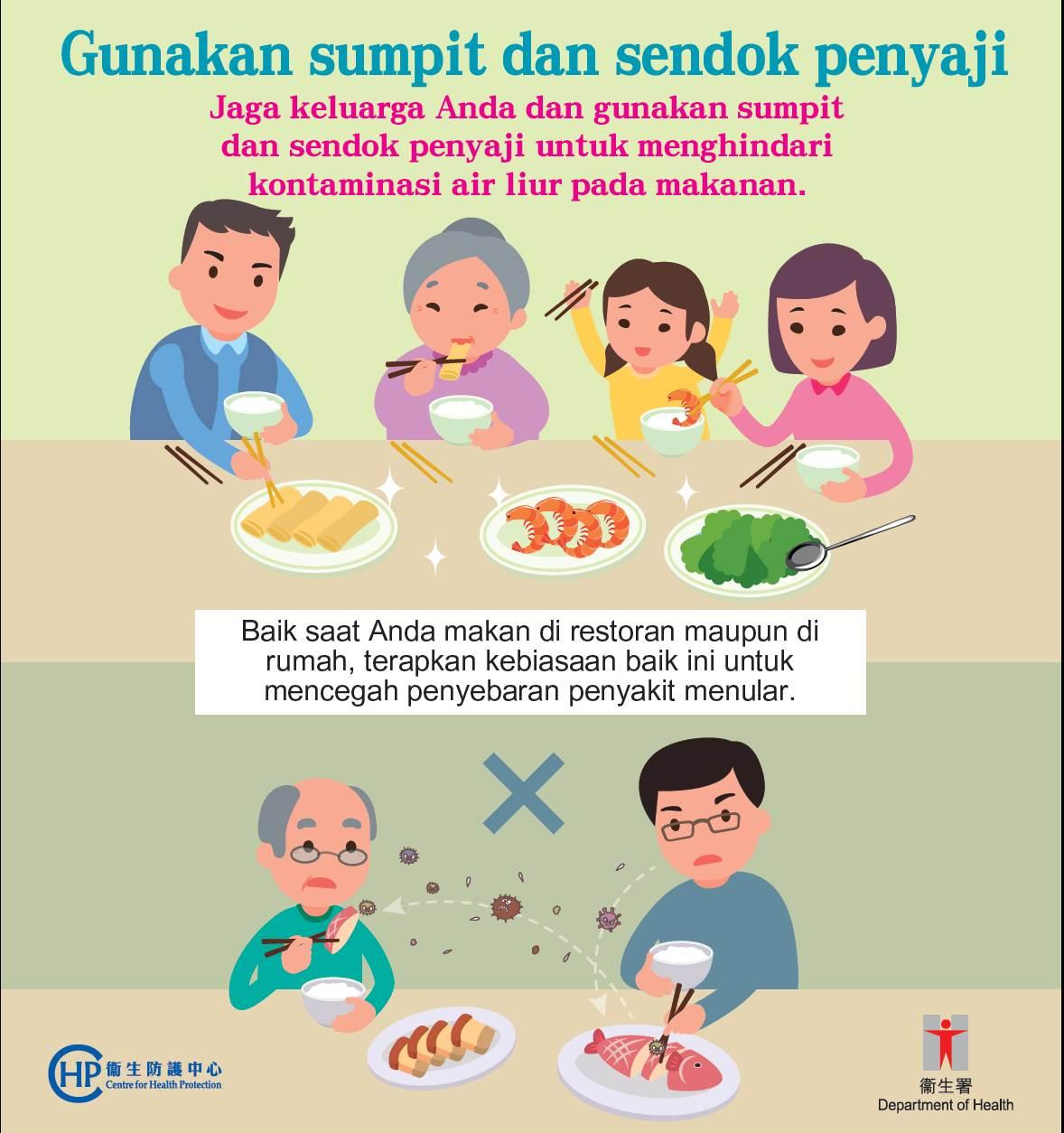 Poster Departemen Kesehatan Hong Kong