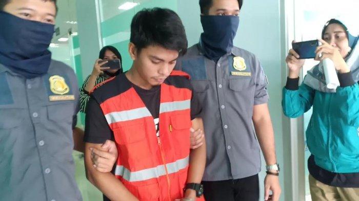 JA (32) Pekerja Migran asal Filipina yang terbentur aturan keimigrasian Indonesia saat akan menikahi ST (foto Darullah Tribun News)