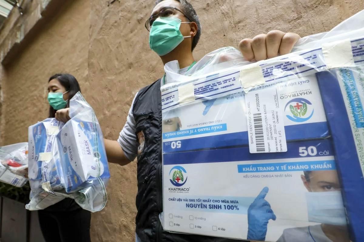 Feature Image Tidak Layak, Empat Merk Masker dari Luar Hong Kong Dilarang Beredar di Hong Kong (Foto SCMP)