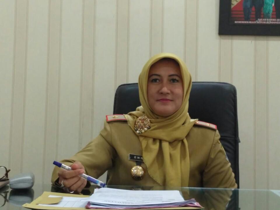 Eni Suhaeni Kepala Dinas Kesehatan Kabupaten Cirebon (foto Rakyat Jabar News)