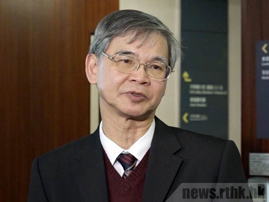 Secretary for Labour and Welfare Law Chi Kwong (Foto news.rthk.hk)