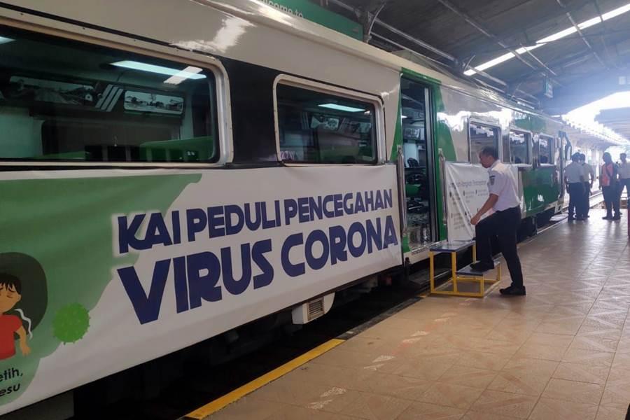 Feature Image DKI Jakarta Berlakukan PSBB, 44 Perjalanan Kereta Api dari dan ke Madiun Jakarta Dibatalkan (Foto Istimewa)
