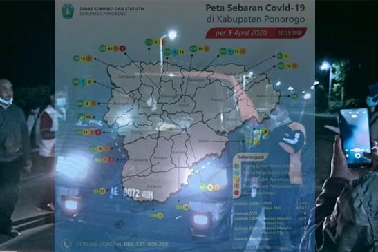 Feature Image Jebol, Bukan dari Pedagang Sayur Magetan, Virus Corona Masuk dan Menginfeksi Tiga Warga Ponorogo dari Cluster Asrama Haji (Foto Istimewa)