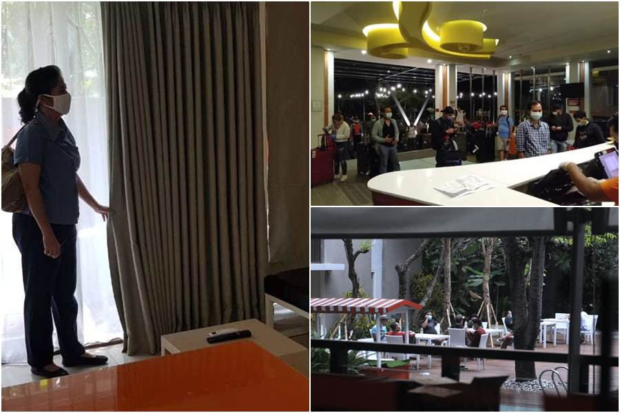 Feature Image PMI Yang Pulang Lewat Denpasar, Dikarantina di Lima Hotel Keren (Foto Istimewa)