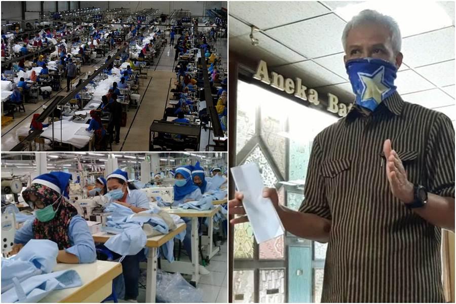 Feature Image Terdampak Corona, 24.240 Pekerja di Jawa Tengah Kena PHK (Foto Istimewa)