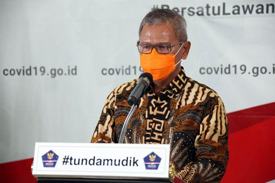 Juru Bicara Pemerintah untuk Penanganan Virus Corona, Achmad Yurianto (Foto Istimewa)