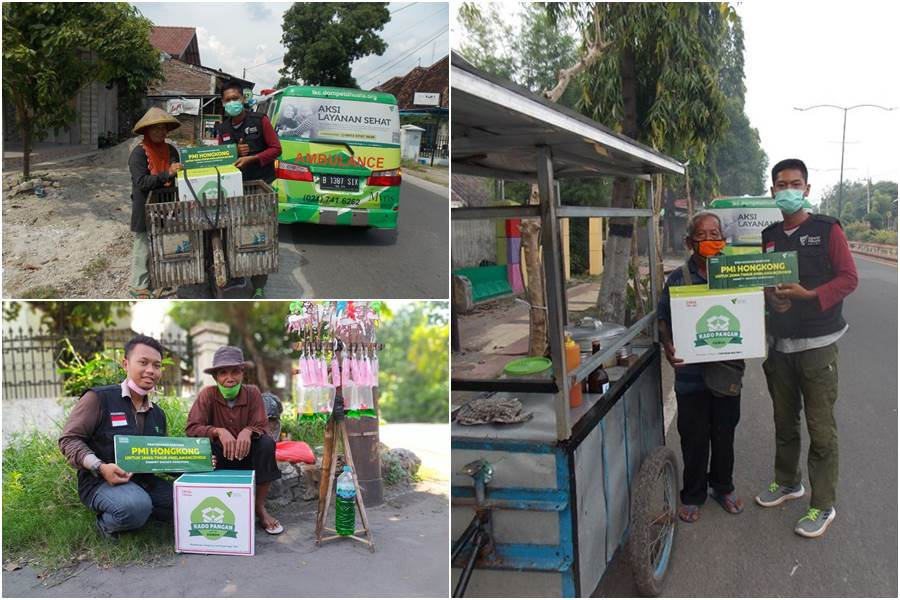 Penyaluran Bantuan DDHK di Jatim dan Jateng (Foto Doc. DDHK)
