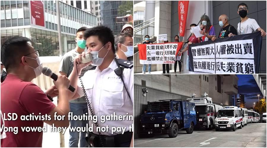 """Feature Image Polisi Hong Kong Tidak Memberikan Ijin, Tetapi """"May Day"""" 2020 Tetap Akan Digelar Unjuk Rasa di Lima Titik di Hong Kong (Foto Istimewa)"""