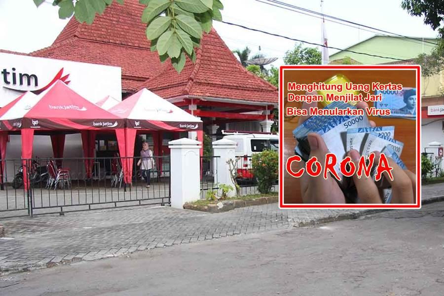 Tiga Karyawan Bank Jatim Ngawi Positif COVID-19