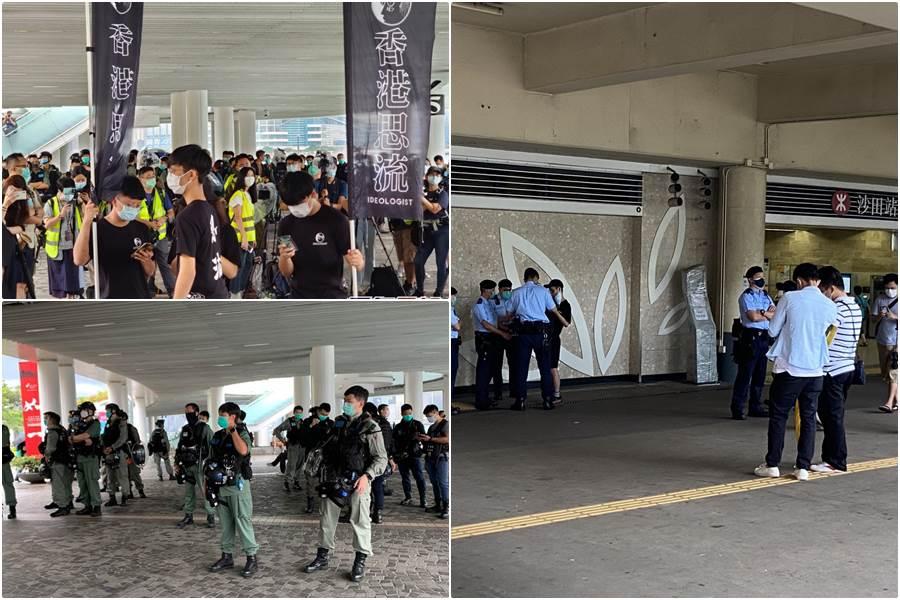 FEATURE IMAGE Pergerakan Pengunjuk Rasa Mulai Terlihat, Polisi Lakukan Penyekatan (Foto Istimewa)