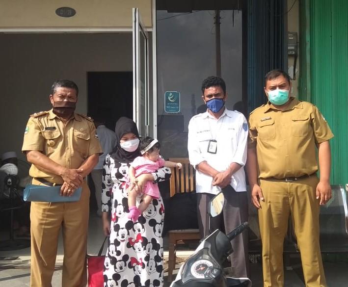 R PMI Asal Gunung Halu Disetrum Pria Pakistan saat masih di Negara Penempatan (Foto Ayobandung.com)