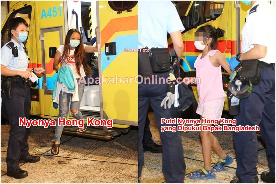 Anaknya Dipukul Bapak bangladesh, Nyonya Hong kong wadul Polisi (Foto HK01)