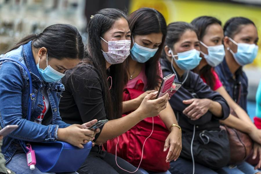 Foreign Domestic Helper during COVID-19 pandemic in Hong Kong (Foto SCMP)