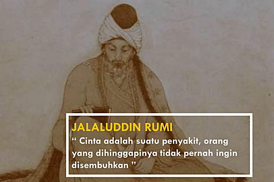 Nasehat Jalaluddin Rumi Tentang Cinta
