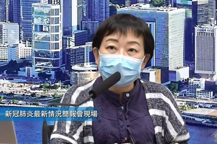 Dr. Chuang Shuk-kwan dari Hong Kong Center for Health Protection (CHP)