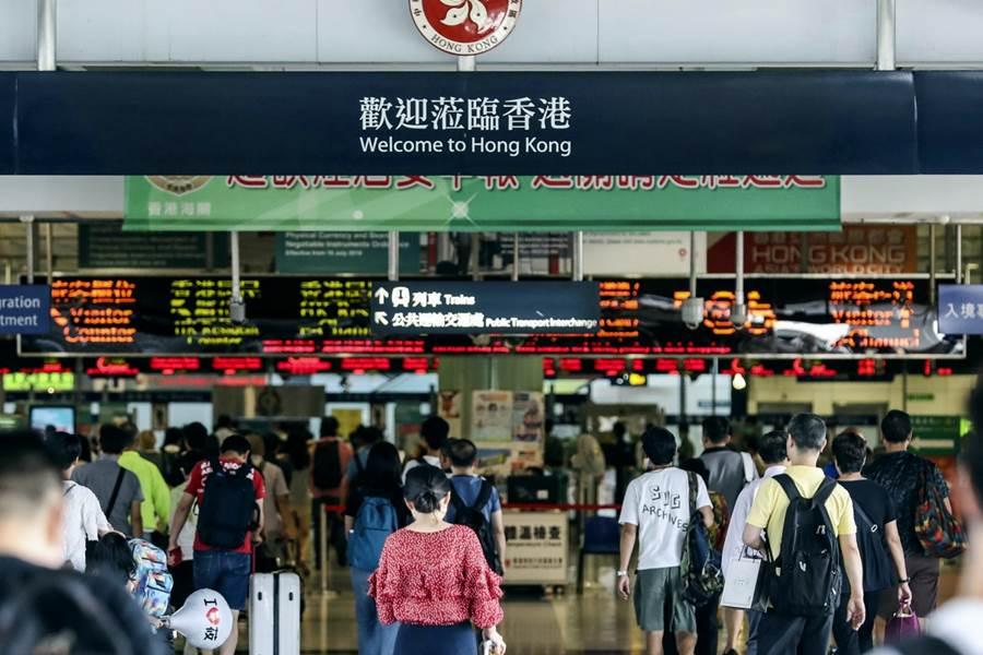 Hogn kong boarder (Foto SCMP)