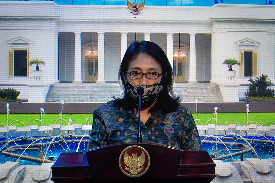 Menteri PPA I Gusti Bintang Ayu Dharmawati (Foto biro pres kepresidenan)