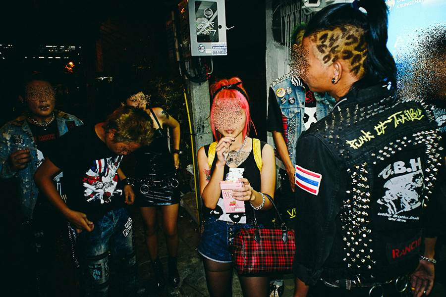 Punk Couple ( Foto Flickr Graham Meyer)