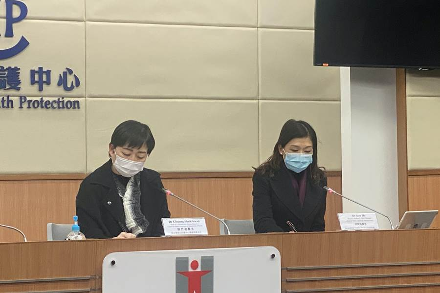 Dr. Chuang Shuk-kwan dari Hong Kong Center for Health Protection (CHP) (Foto HK01)