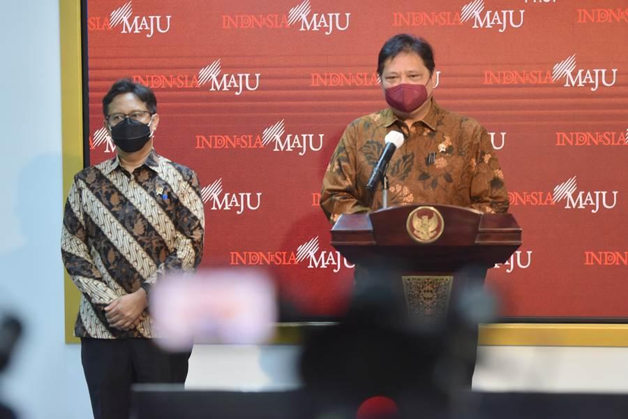 Menko Perekonomian yang juga Ketua KPC-PEN Airlangga Hartarto (Foto Setkab)