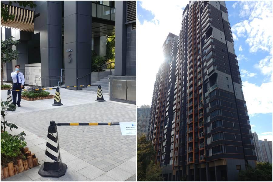 blok 5 jatuh dari apartemen majikan (foto HK01)