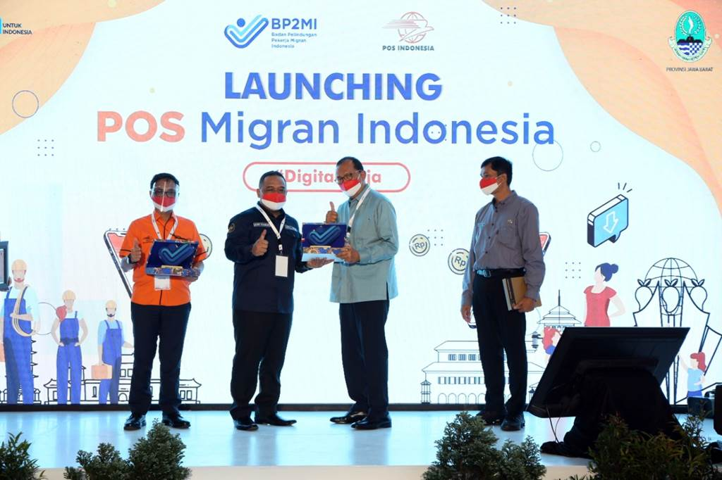 Launching Pos Migran Indonesia (Foto Doc. Pos Indonesia)