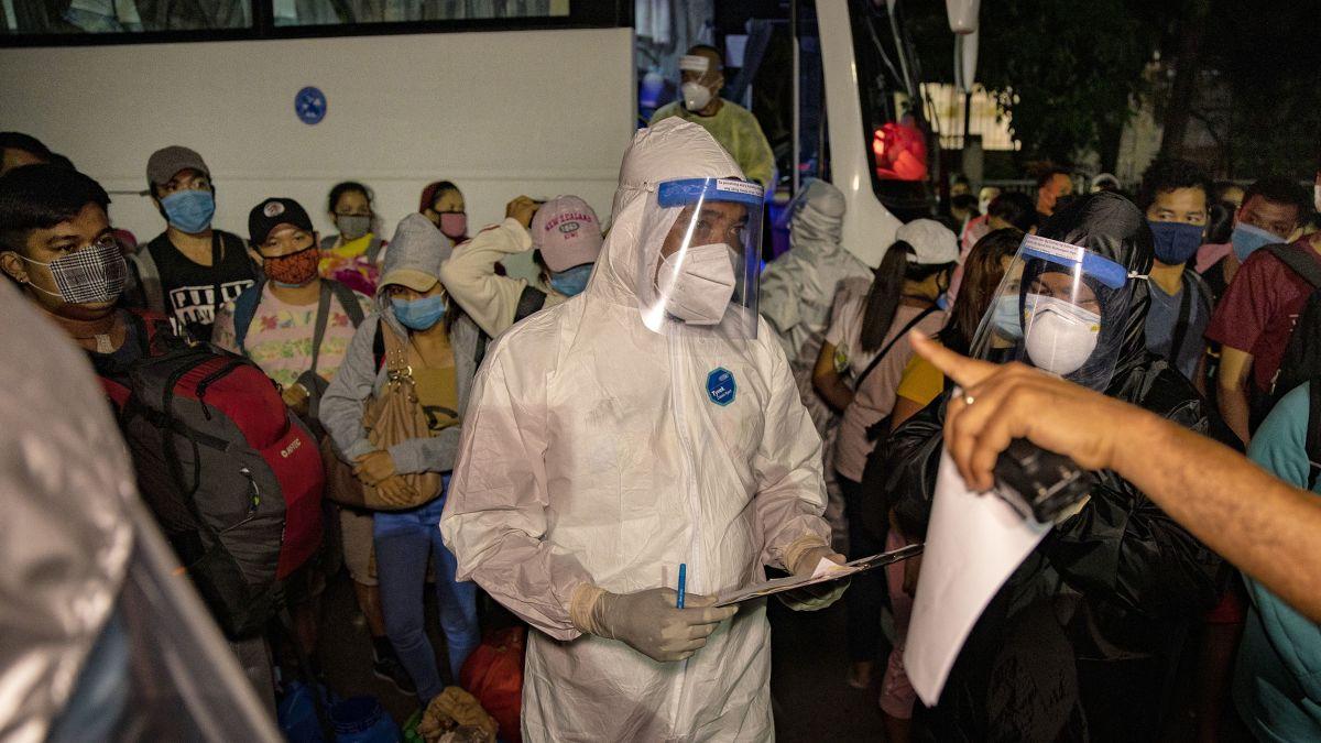 Situasi Pandemi Covid-19 di Filipina Kian Mengkhawatirkan (Foto CNN)