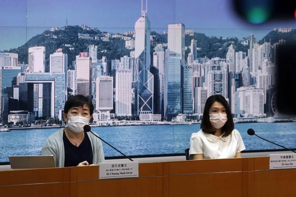 Dr. Chuang Shuk-kwan dari Hong Kong Centre for Health Protection (CHP) (Foto HK01)