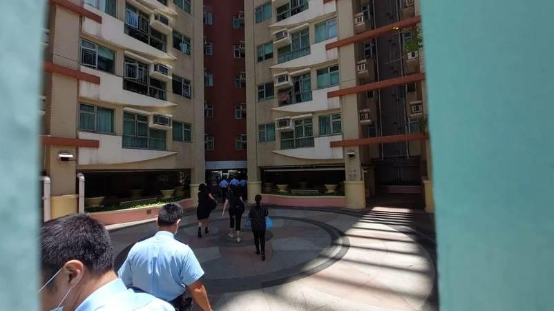 TKP Building Block 2, No. 93 Cung Hau Street, Ho Man Tin Tempat PRT Asal Indonesia yang meninggal dunia usai divaksin corona (Foto Apple Daily)