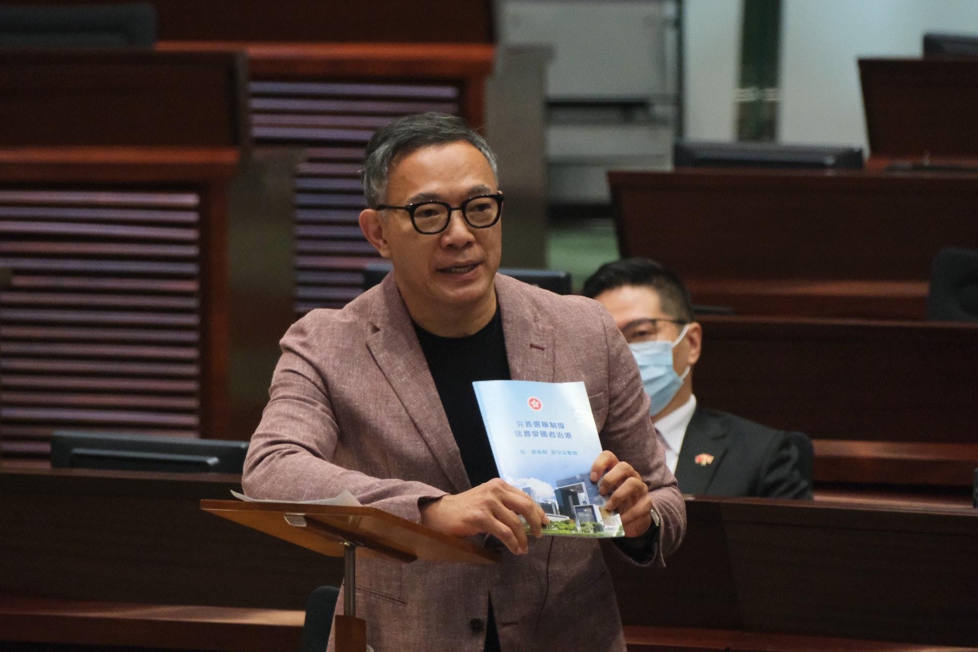 Anggota Legislatif Hong Kong, Hon Paul Tse (Foto HK01)