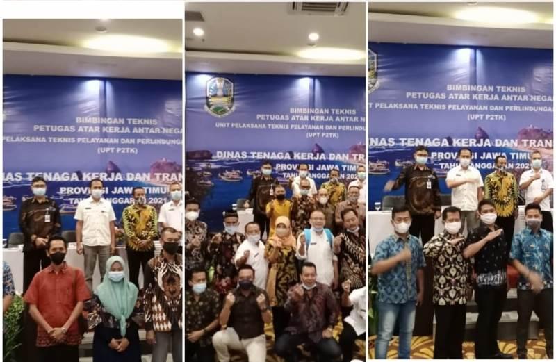 Bimtek perlindungan PMI di Jember (Foto Istimewa)
