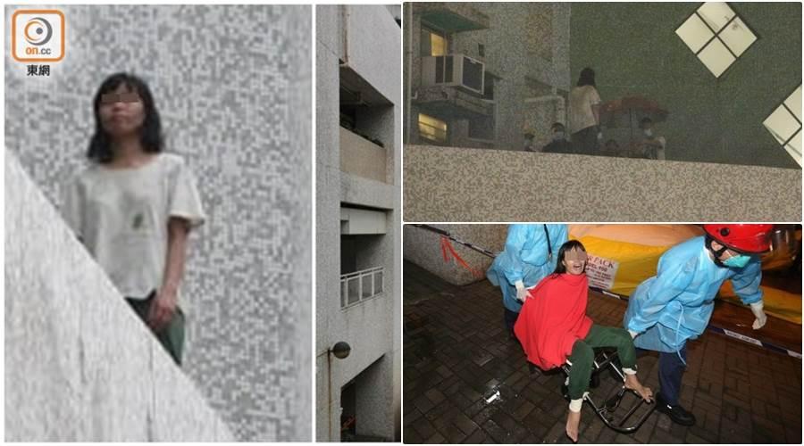Perempuan asing yang baru menikah dengan pria Hong Kong digagalkan upaya bunuh dirinya (Foto ON.CC)