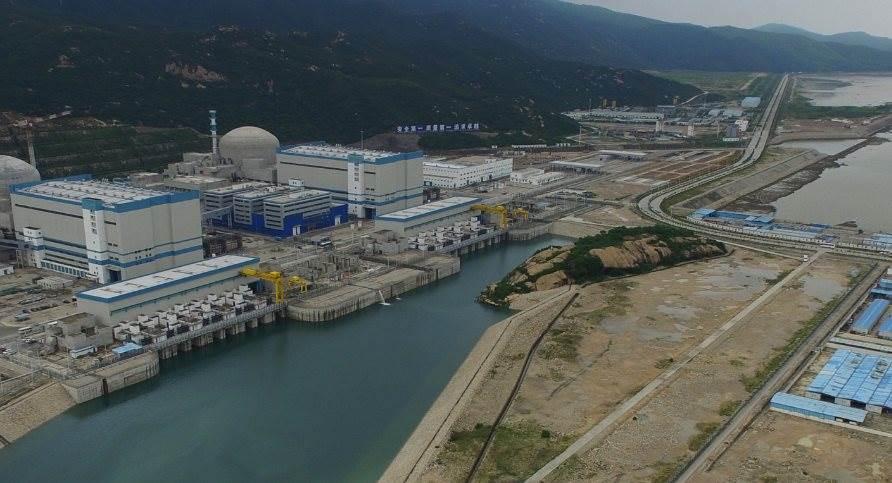 Pusat reaktor Nuklir milik China di Taishan Guangdong (Foto HKFP)