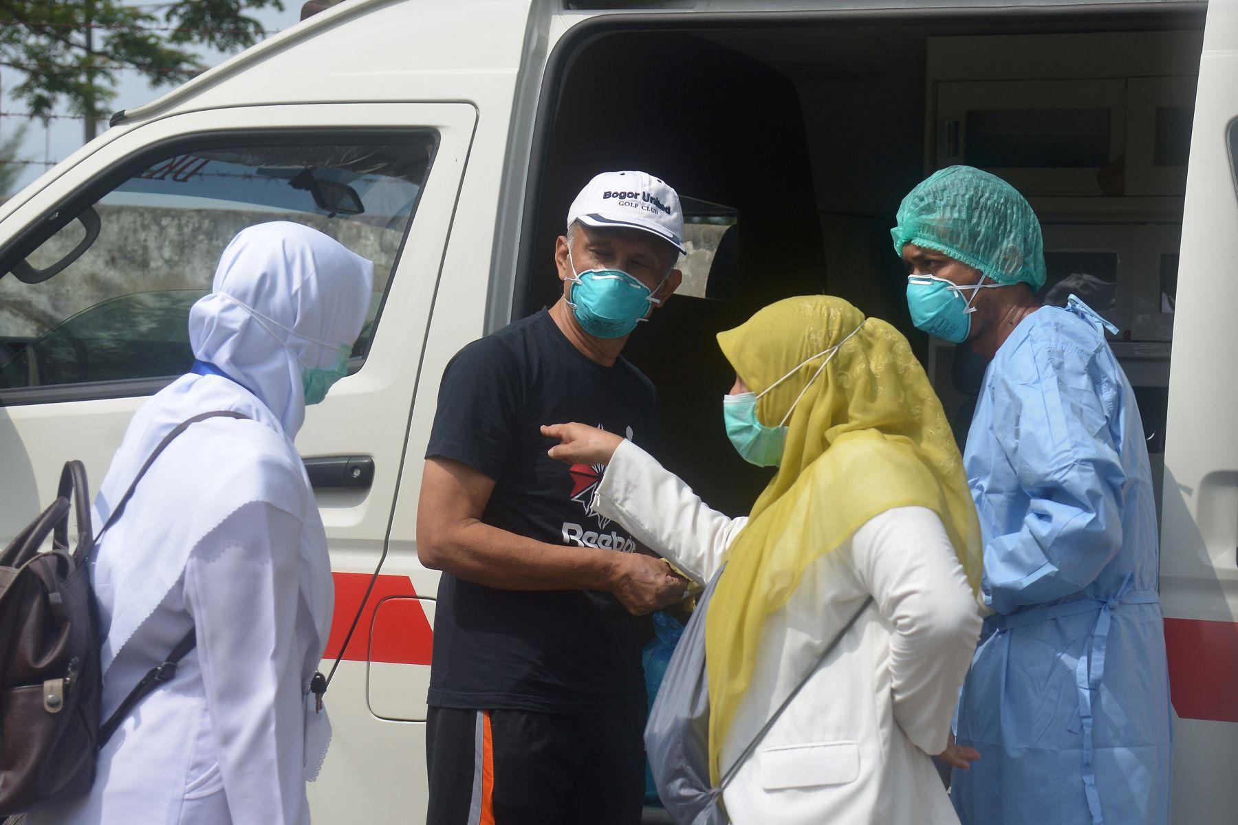 Suasana penanganan pandemi Covid-19 di Indonesia (Foto Media Indonesia)