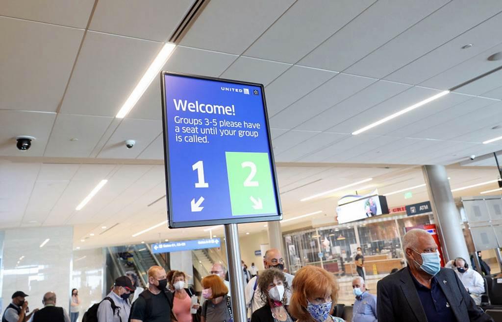 Suasana penerbangan United Air (Foto Getty Image via HK01)