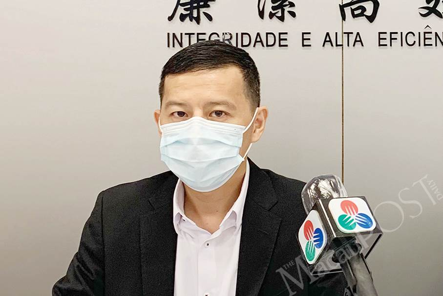 Juru Bicara Judiciary Police (PJ) Makau, Chan Wun Man (Foto Istimewa)