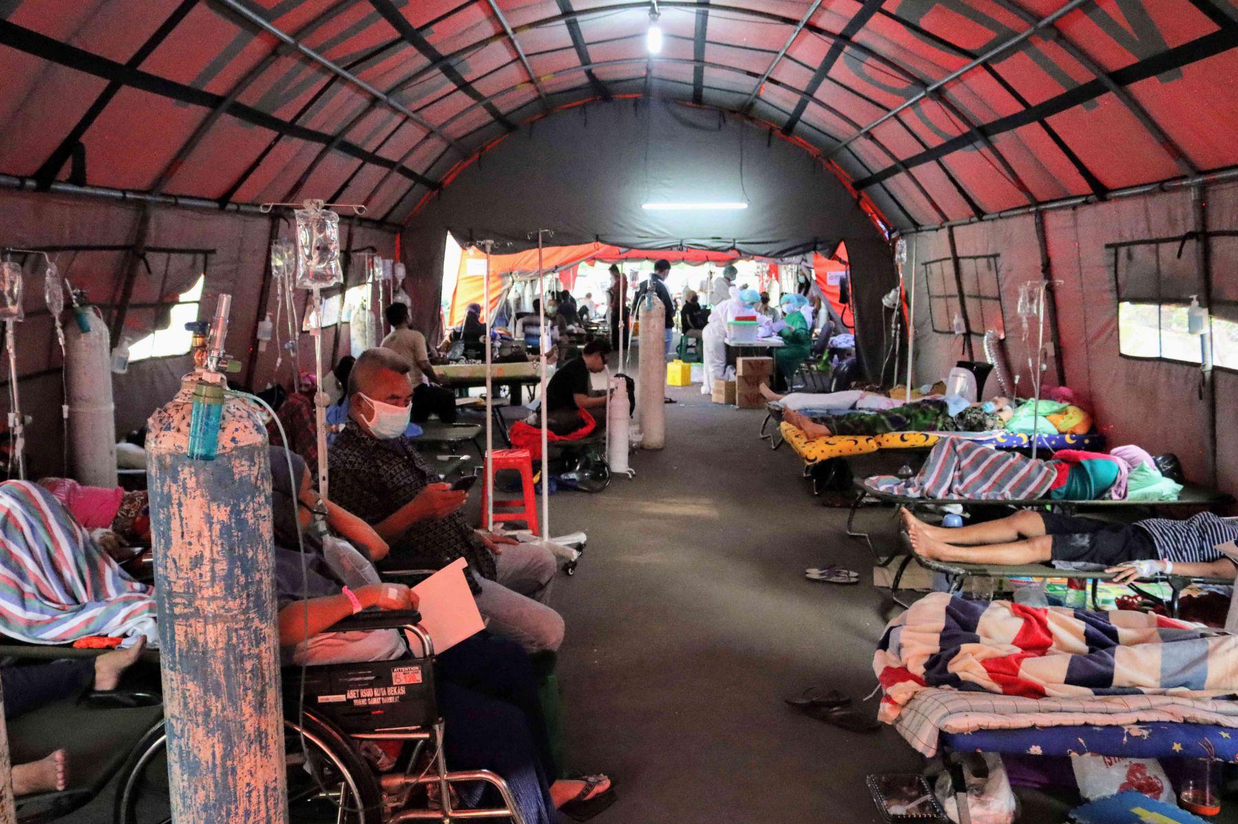 Bed Ocupancy Rate (BOR) Rumah Sakit di Jakarta Pusat Mencapai 93% (Foto Media Indonesia)