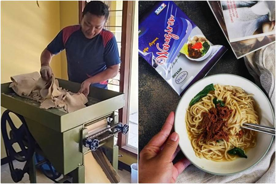 Mie Ayam Instan Andhi laris dibeli PMI (foto Istimewa)