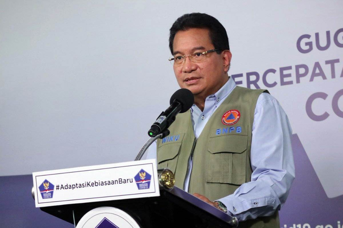 Ketua Tim Pakar Gugus Tugas Nasional Prof. Wiku Bakti Bawono Adisasmito (Foto BNPB)