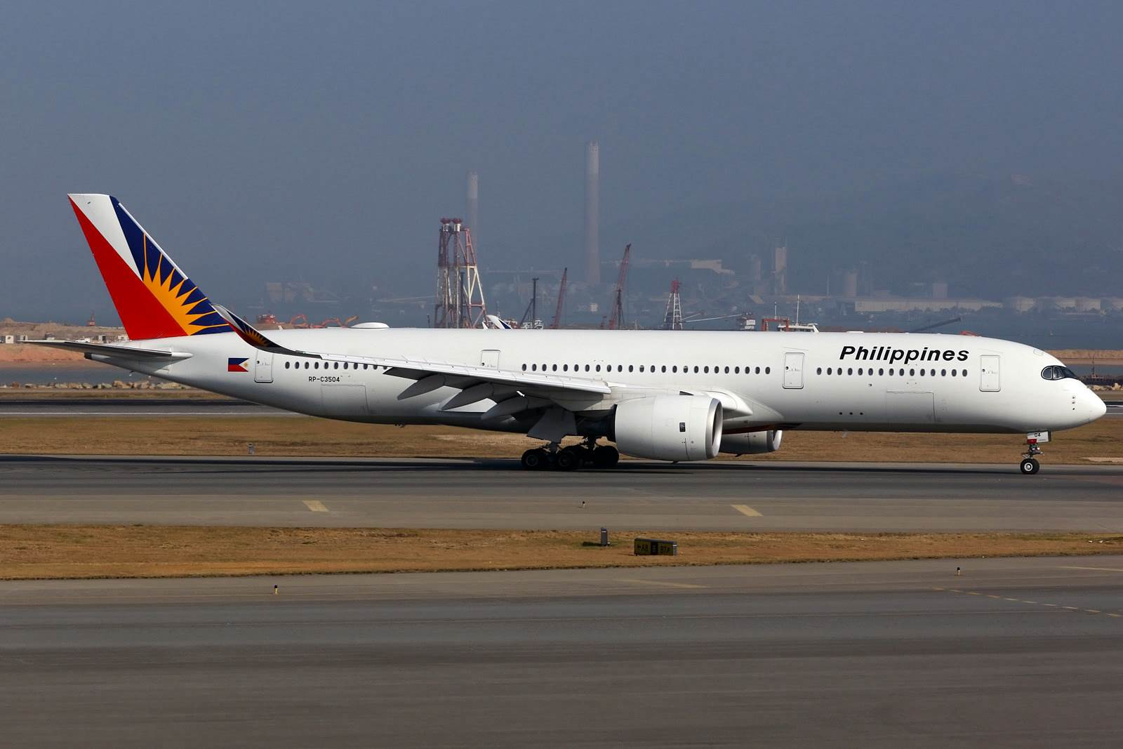 Philippine Airlines in Hong Kong (Foto Flickr.com Dennis Lau)