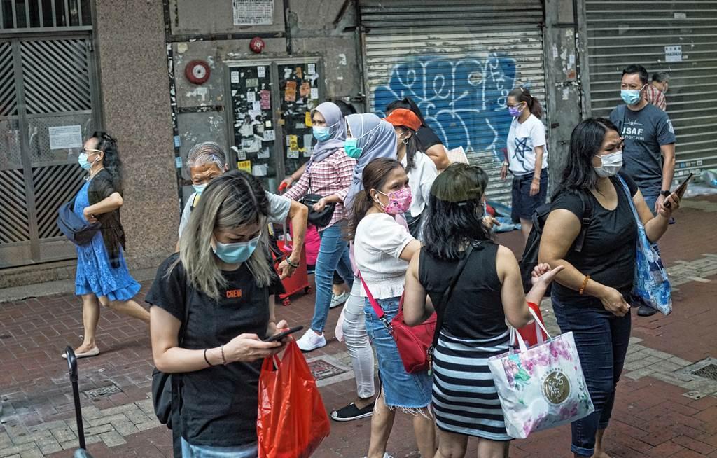 Aktifitas PRT Asing di Hong Kong saat libur
