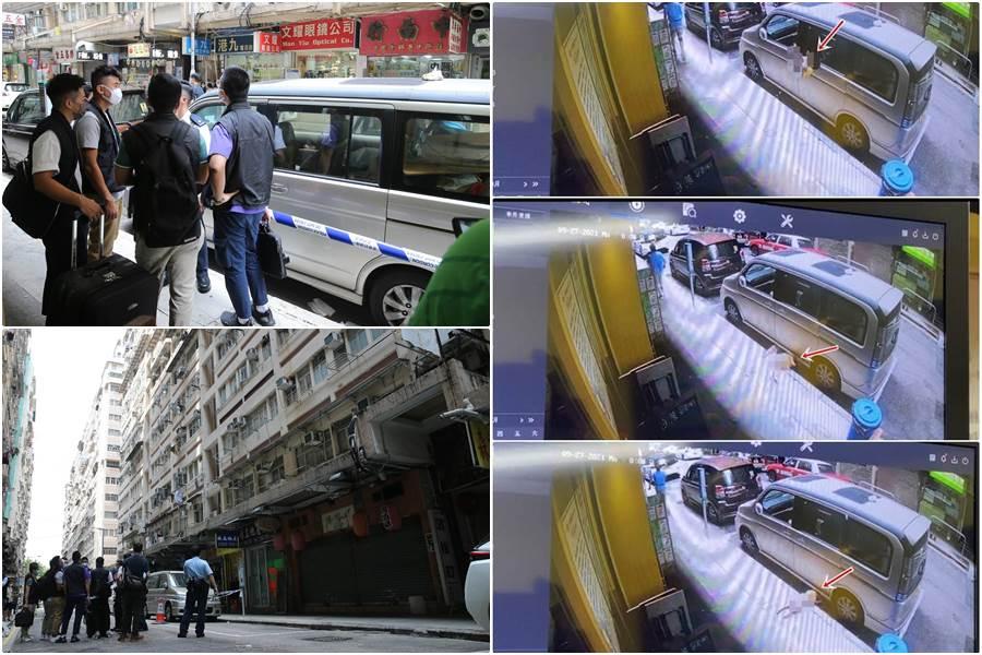 Balita 2 tahun anak seorang perempuan paperan asal Indonesia jatuh dari lantai 10 di Yau Ma Tei Hong Kong (Kolase Foto HK01)