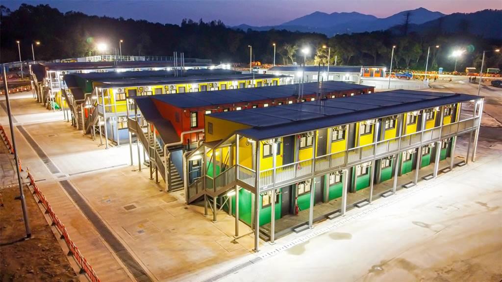 Penny's Bay quarantine centre Hong Kong (Foto otand.com)