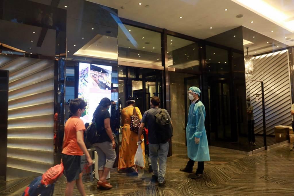 Silka View Hotel Quarantine Tsuen Wan (Foto HK01)
