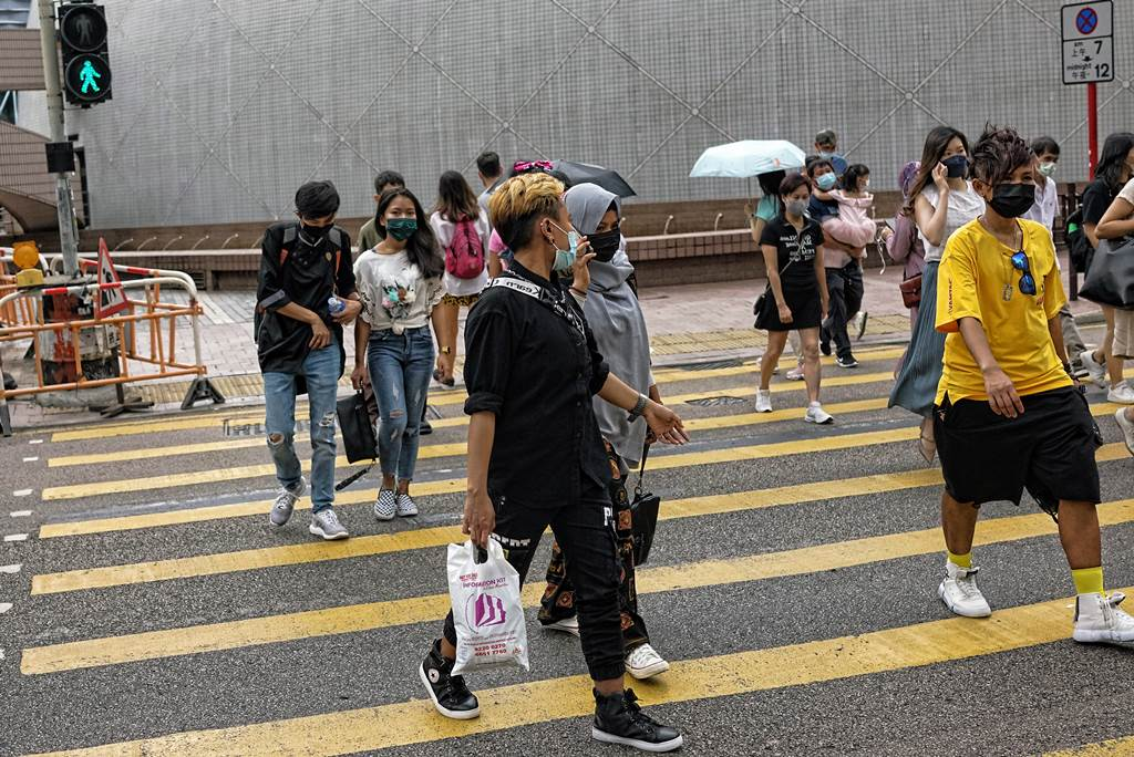 Situasi di Hong Kong saat pandemi covid (Foto Istimewa)